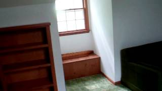 2nd Flr Bonus Room With Dormer Window, Window Seat, Built In Book Case, Sofa Bed