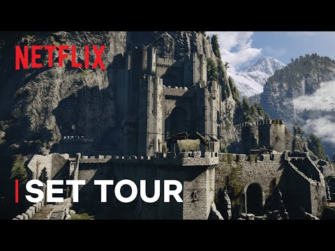 The Witcher: WitcherCon   Inside Kaer Morhen   Netflix