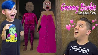 GRANNY and GRANDPA are BARBIE dolls now! GRANNY Chapter 2 BARBIE Mod