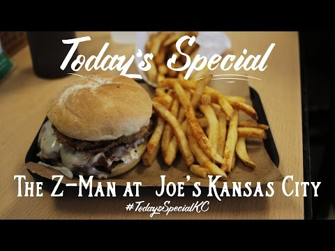 Today's Special: The Z-Man at Joe's Kansas City
