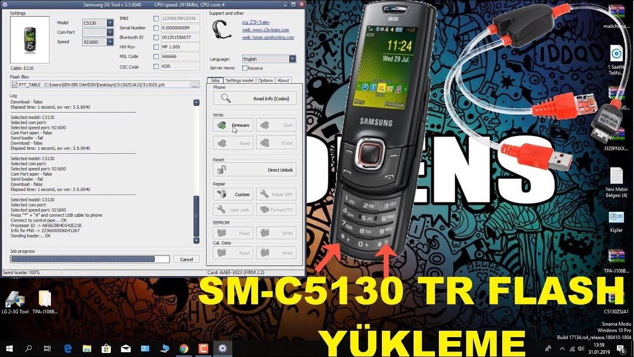 Samsung b350e pac file free download