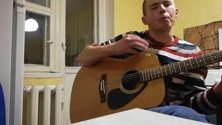 Баста - Выпускной (медлячок)  кавер на гитаре
