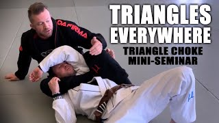Triangle Chokes from Almost Everywhere | A Mini-Seminar