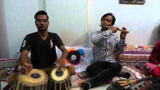 "MasterPeace Nelsosn "" Flute Artist Honey and Tabla Artist Naresh"" Pakistan"