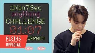 [1Min7Sec CHALLENGE] 버논이의 원샷 스트로우 (Vernon's One Shot Straw)