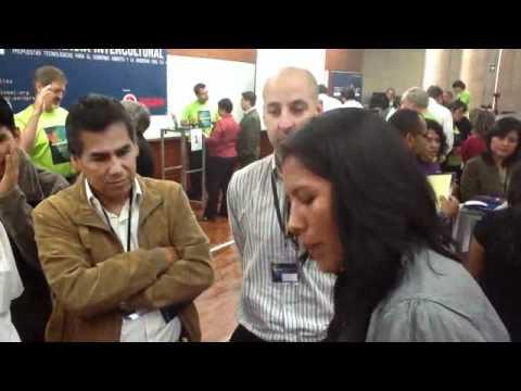 Speed Geeking at TechCamp Lima
