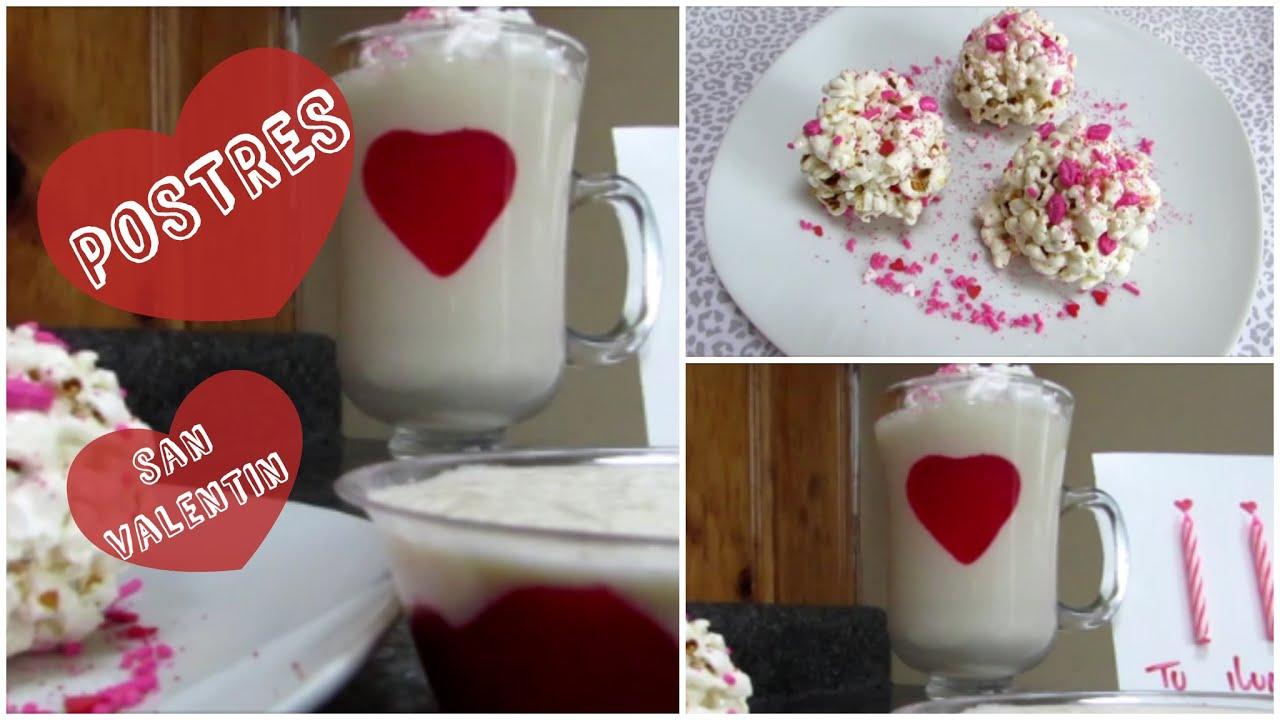 Postres para san valentin faciles lore pe aloza youtube - Dulces de san valentin ...
