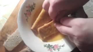 Как приготовить гренки