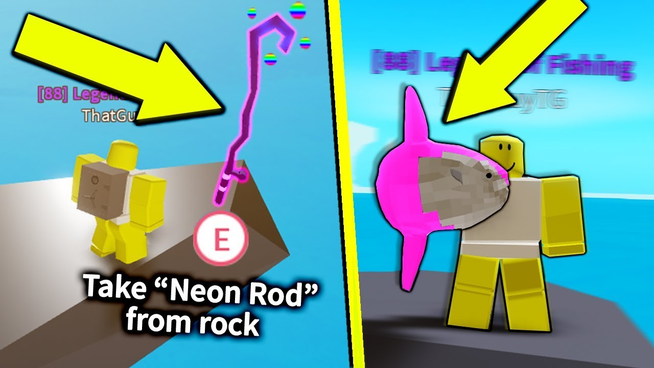 This Secret Rod Only Catches Neon Mythic Fish In Roblox Fishing