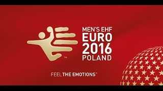 EHF EURO 2016 Qualification draw event