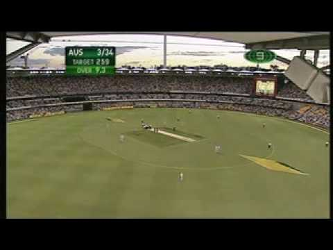 Andrew Symonds Takes Out Streaker at the Gabba.