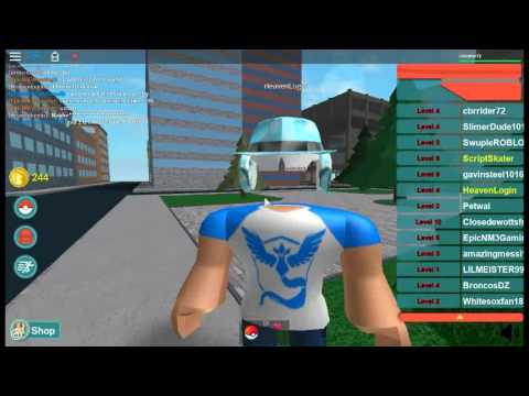 roblox pokemon go how to play