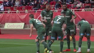 Monaco 2-3 ASSE : les buts vu de la pelouse