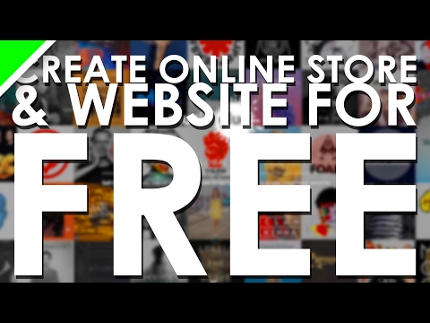 Create A Band Merch Store & Website for FREE!