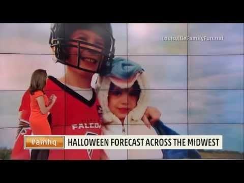 Cuties in Costume and the Halloween Forecast