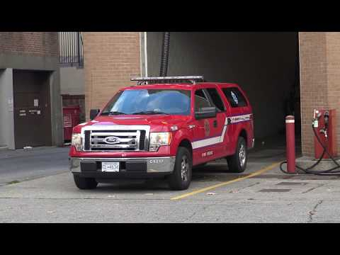 Vancouver Fire & Rescue Services - Medic 4 Responding (x6)