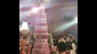 Самая богатая свадьба таджикского олигарха в Москве. Самый большой торт....