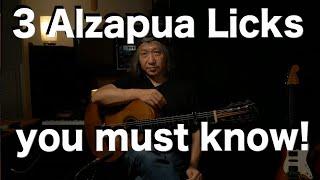 3 Alzapua Licks You Must Know! works in Tangos Solea por Bulerias Alegrias [Flamenco Guitar Lesson]