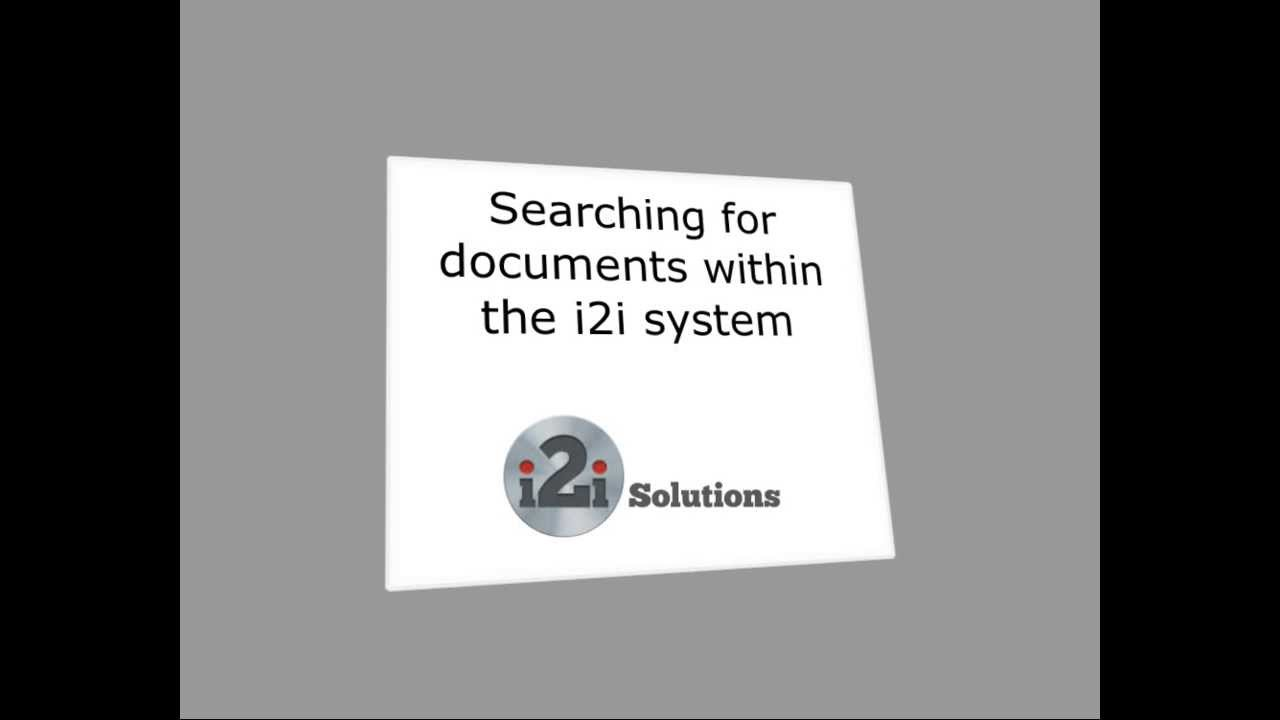 How to Search for Standards within the i2i Platform
