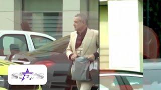 Imagini de senzatie cu Gigi Becali. Milionarul a fost filmat de paparazzi cu saci de bani ...