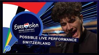 Switzerland - LIVE - Gjon's Tears - Répondez-moi - Eurovision 2020