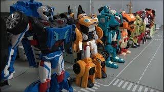Tobot 7 Color Robot Toys Transformation 또봇 7 로봇 장난감 자동차 변신