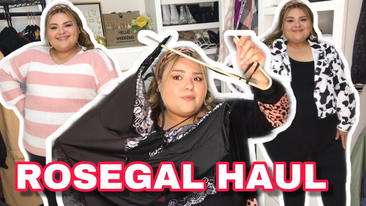 ROSEGAL PLUS SIZE TRY ON HAUL