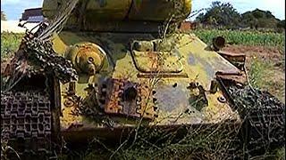 СЛУЧАЙНО НАШЛИ ТАНК Т-34, УЧАСТВОВАВШИЙ ВО ВТОРОЙ МИРОВОЙ