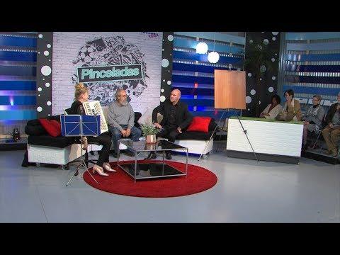 Hablamos con Vera Simoni y el Pintor Orestes Díaz Morales