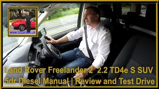 Review and Virtual Video Test Drive in our Land Rover Freelander 2  2.2 TD4e S SUV 5dr Diesel Manual