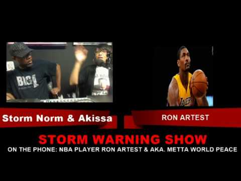 The Storm Warning Show Speaks With NBA Player RON ARTEST on WBKS1.COM