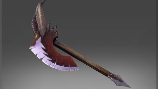 Dota 2 Axe - Wyvernguard Edge custom animation preview