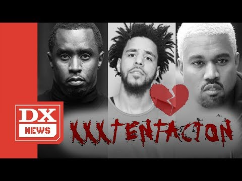 Diddy, Kanye West & J.Cole React To XXXTentacion Untimely Death