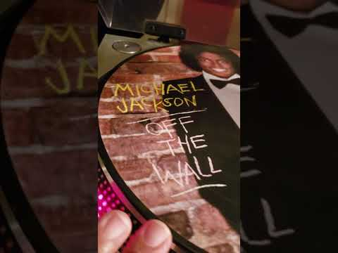 Off The Wall Picture Disc Michael Jackson Unboxing