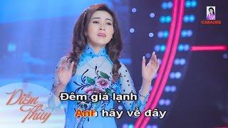 Karaoke Sương Lạnh Chiều Đông - Diễm Thùy