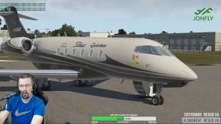 Challenger 300 Lesson from real world pilot - Cold and Dark Tutorial X-plane 11