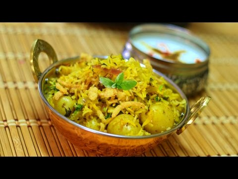 Quick & Easy BIRYANI Video Recipe by Bhavna | Aloo Biryani | Make Egg Biryani with same recipe