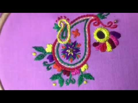 Hand Embroidery Easy Stitch How To Make Rajasthani Stitch Youtube