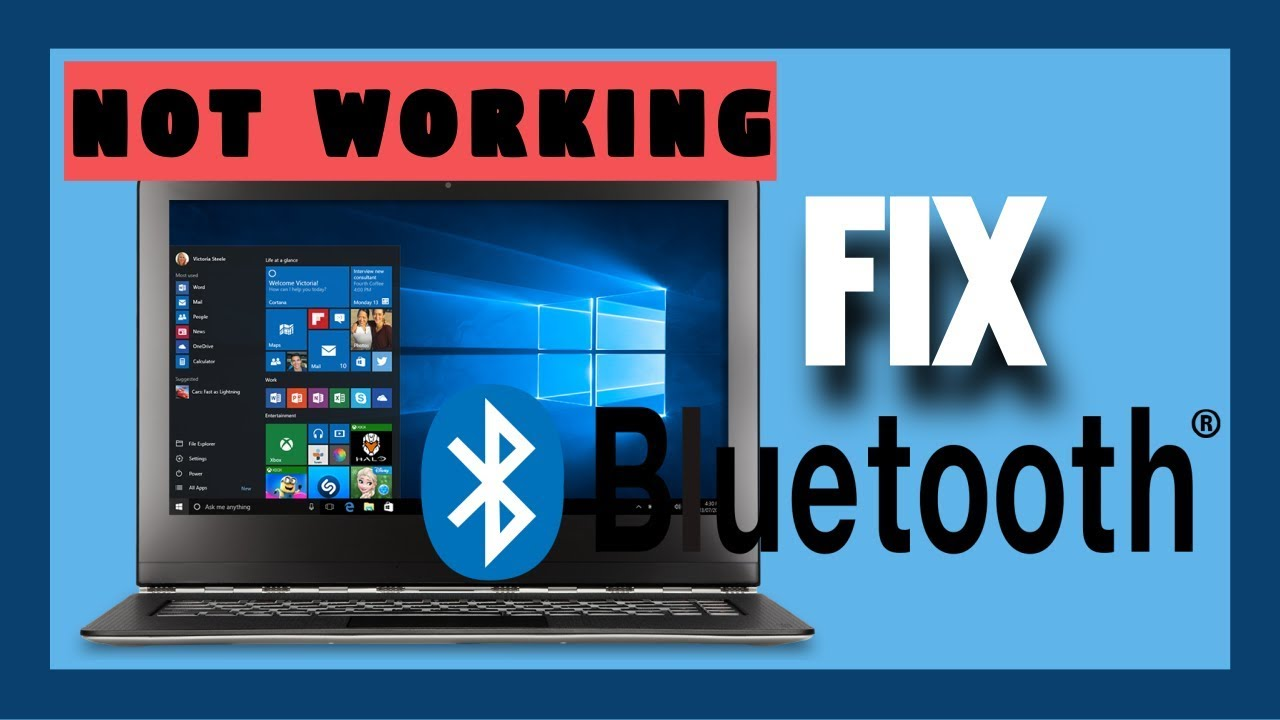 Bluetooth Device Not Working On Windows 10 | [ 3 Ways To Fix ]