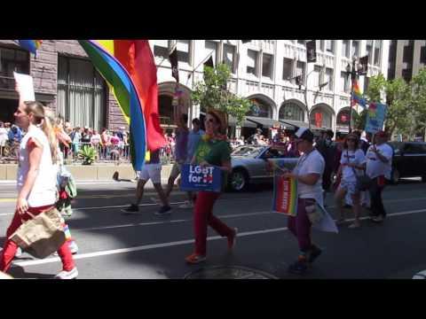 San Francisco Pride Parade 2016 Nancy Pelosi United States House of Representatives Minority Leader