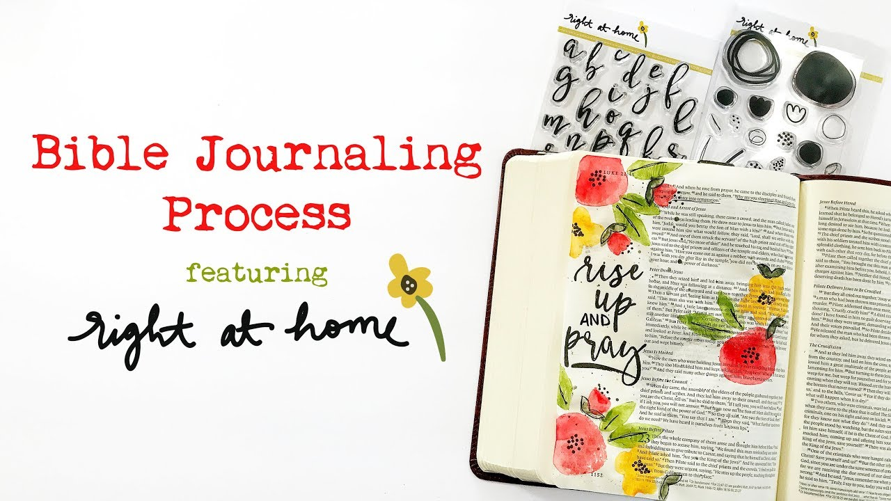 Stamping With Inktense Pencils Featuring Right At Home Stamps