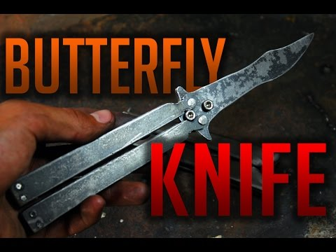 How to make a BUTTERFLY KNIFE