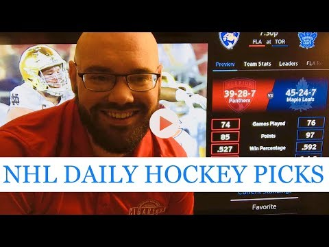 NHL Picks | March 28, 2018 (Wed.) | Hockey Sports Betting Predictions | Vegas Lines & Odds