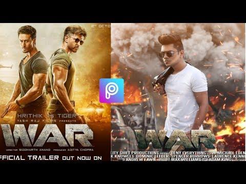War Movie PicsArt War Movie Poster Photo Editing Tutorial In Picsart Step By Step InBangla