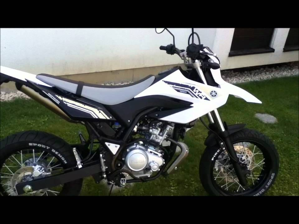 yamaha wr 125 x 2011 sports white pictures soundcheck youtube. Black Bedroom Furniture Sets. Home Design Ideas