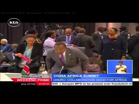 China wind up her charm offensive in Africa with the China Africa Summit in South Africa