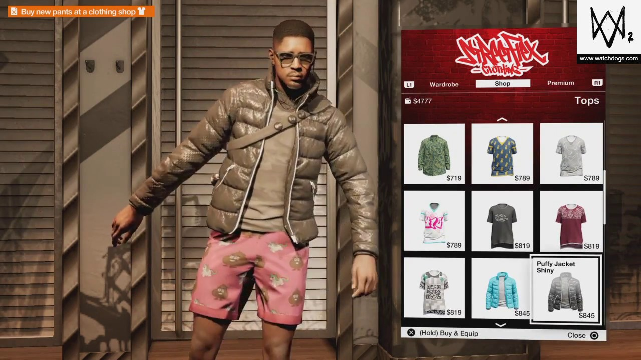 Watch Dogs 2 Outfits Customization Youtube