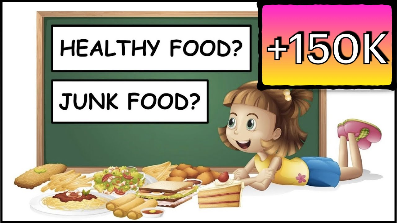 Healthy Food Junk Food Learn About Food Kids Song Rhyme The Kid Next Door Youtube