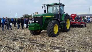 Трактор John Deere 8200 и борона Tolmet Astat 400 с сеялкой(, 2016-12-10T19:51:57.000Z)