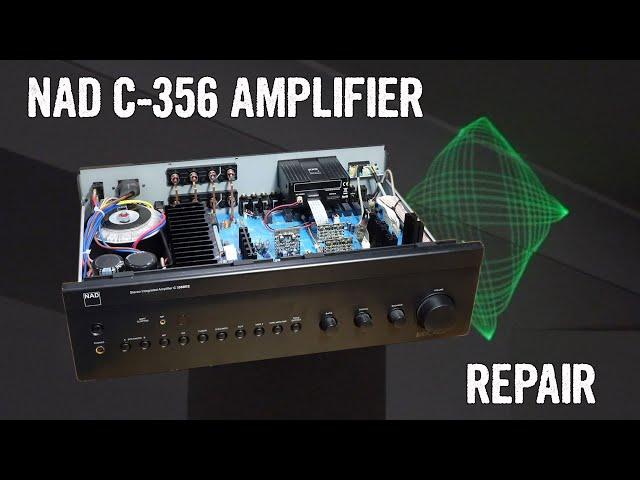 Modern Tech Fail: NAD C 359BBE Amplifier Repair